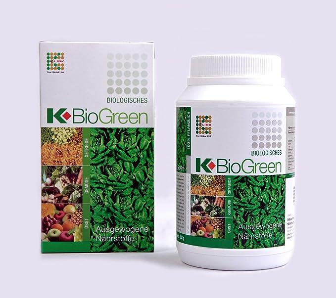 Biogreen, el suplemento nutricional saludable y biológico ...