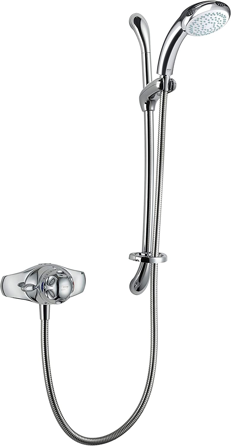 Mira Showers 1.1518.300 Excel Exposed Variable (EV) Mixer Shower, Chrome