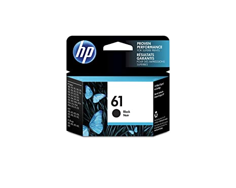 Amazon.com: HP 61 Cartucho de tinta original negra (CH561WN ...