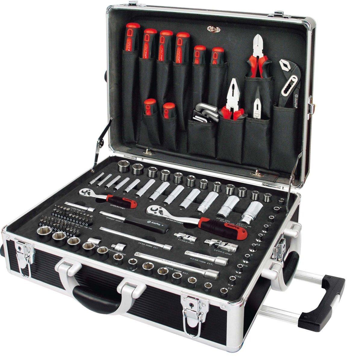 AmPro t45901Case Repair Tools, Set of 136