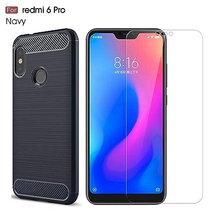 Amazon.com: Xiaomi Redmi 6 Pro Case/Xiaomi Mi A2 Lite Case ...