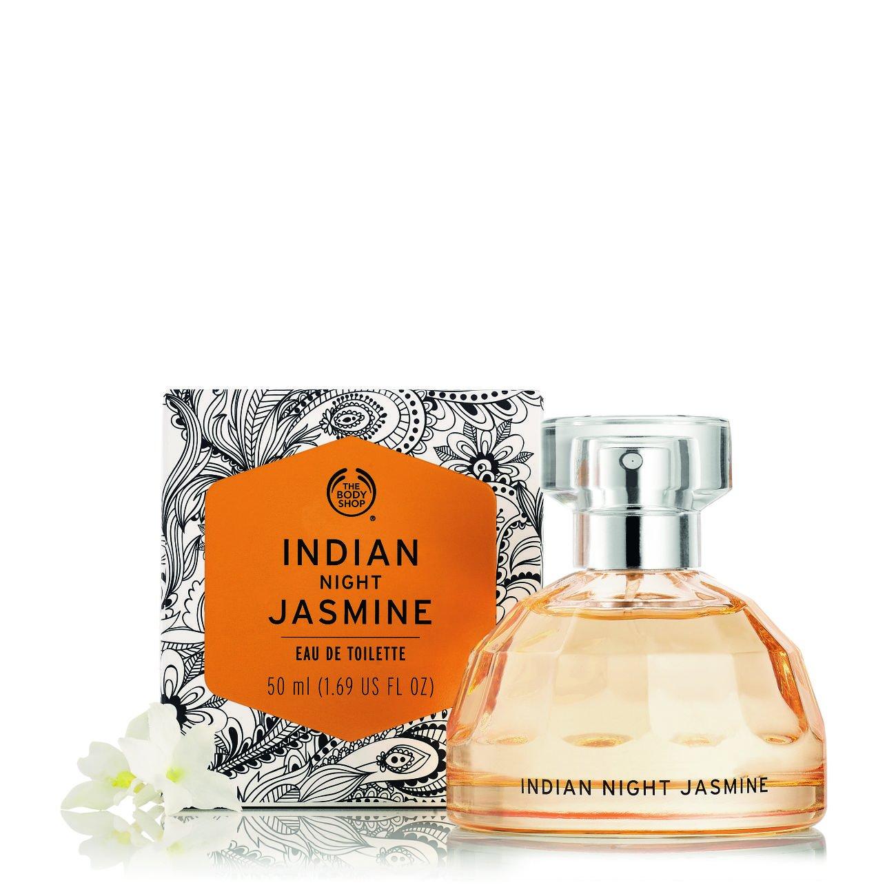 The Body Shop Indian Night Jasmine Eau De Toilette, 1.69 fl. oz.