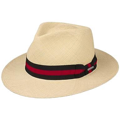 2d5cabdc62a9 Stetson Rocaro Fedora Panama Hat Men | Made in Ecuador at Amazon ...