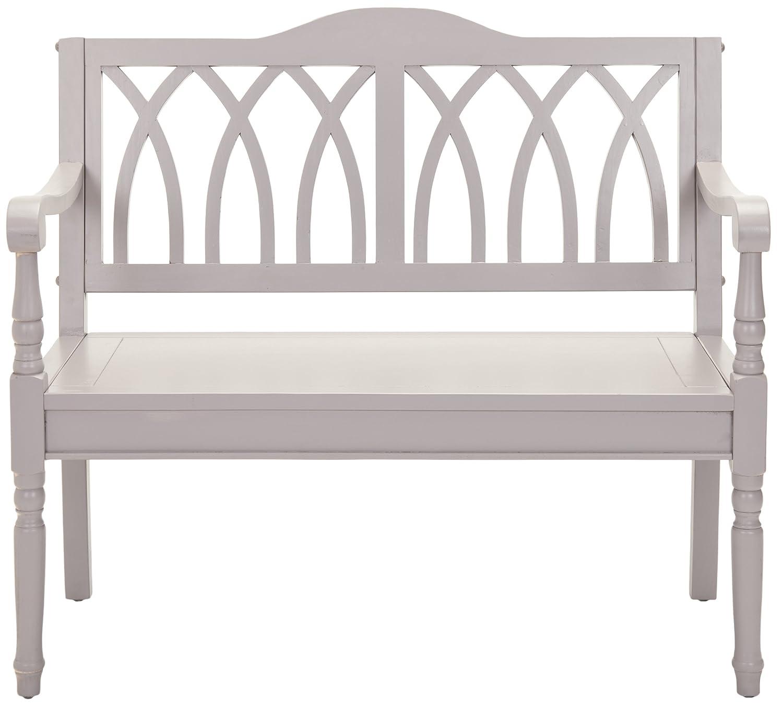 Safavieh Reagan Bench, Wood, Grey EUH6500C EUH6500C_Grey