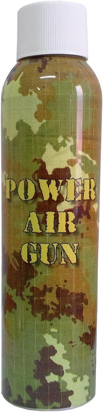 SUPER GREEN Pistolas Airsoft de Recarga de Gas, 400 mililitros (Boquilla de Metal Larga)