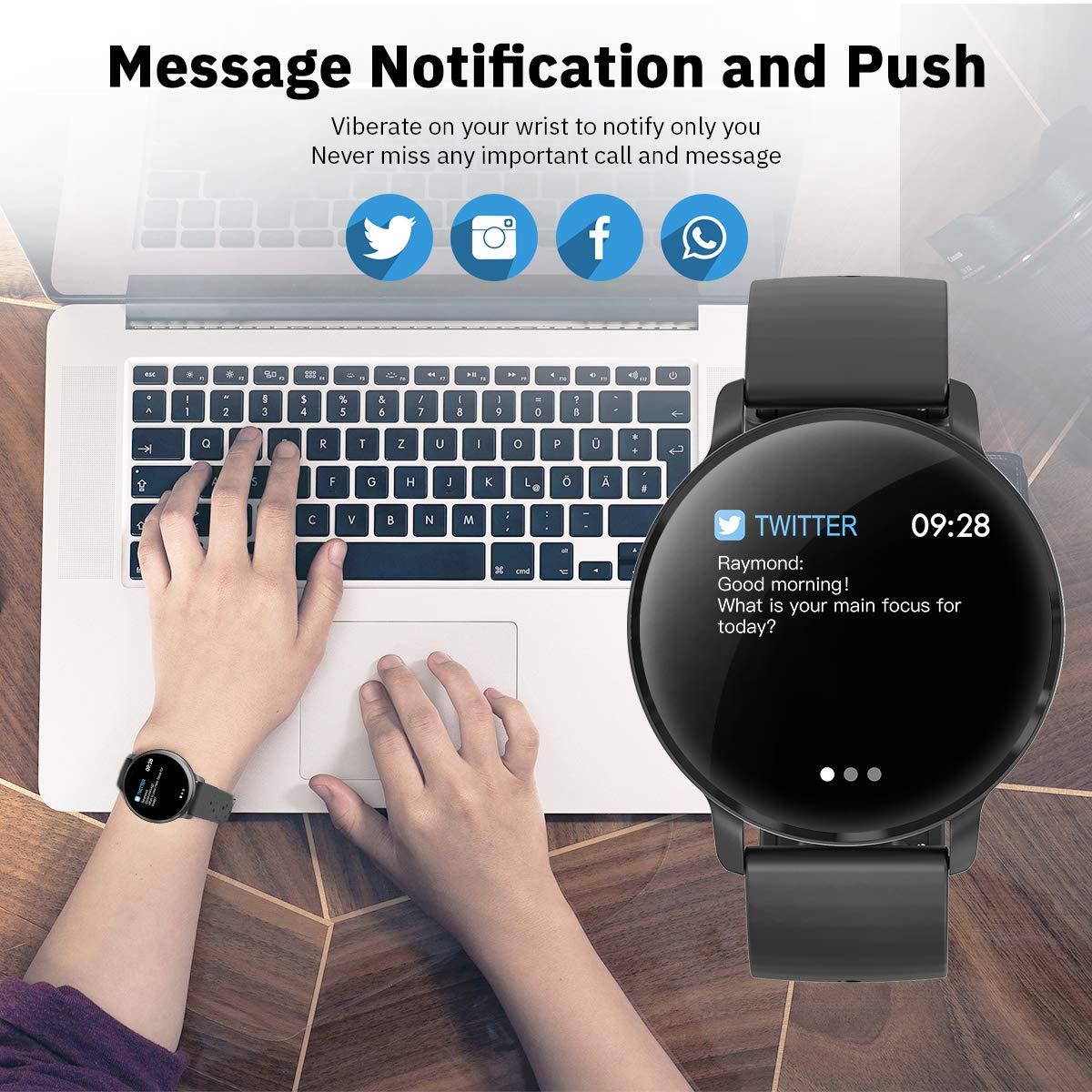 Amazon.com: Reloj inteligente CatShin CS06 IP68 impermeable ...
