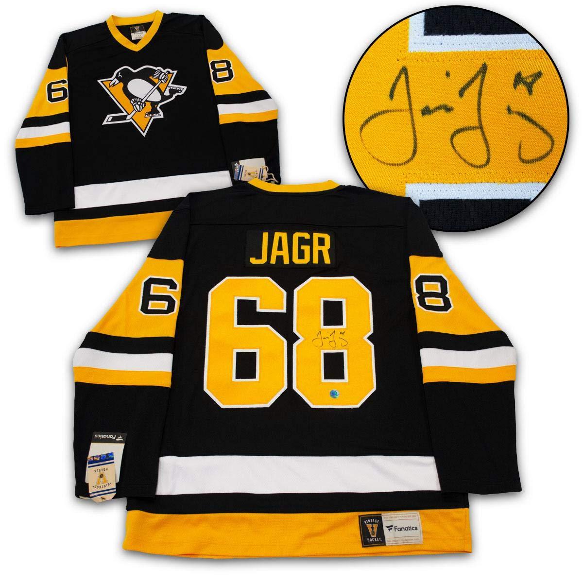 Jaromir Jagr Autographed Jersey - Fanatics Vintage - Autographed NHL Jerseys  at Amazon s Sports Collectibles Store 6e2dbc2fcac
