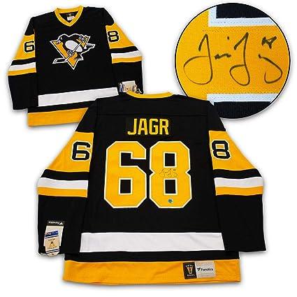 finest selection c36af 984ea Jaromir Jagr Autographed Jersey - Fanatics Vintage ...