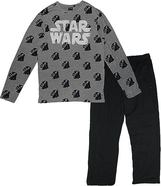 Star Wars - Pijama dos piezas - para niño gris M: Amazon.es ...