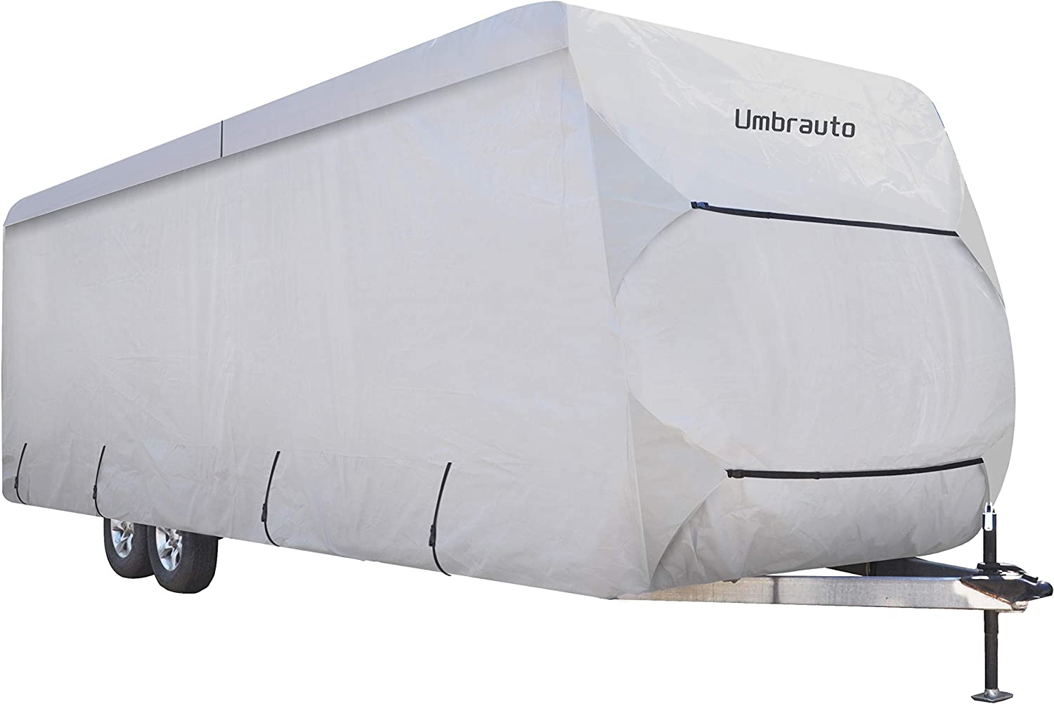 Umbrauto Travel Trailer RV Cover Thick 3 Layers Polypro Anti-UV Top Panel Waterproof Breathable Camper Covers Ripstop Fits 20' Travel Trailer: Automotive