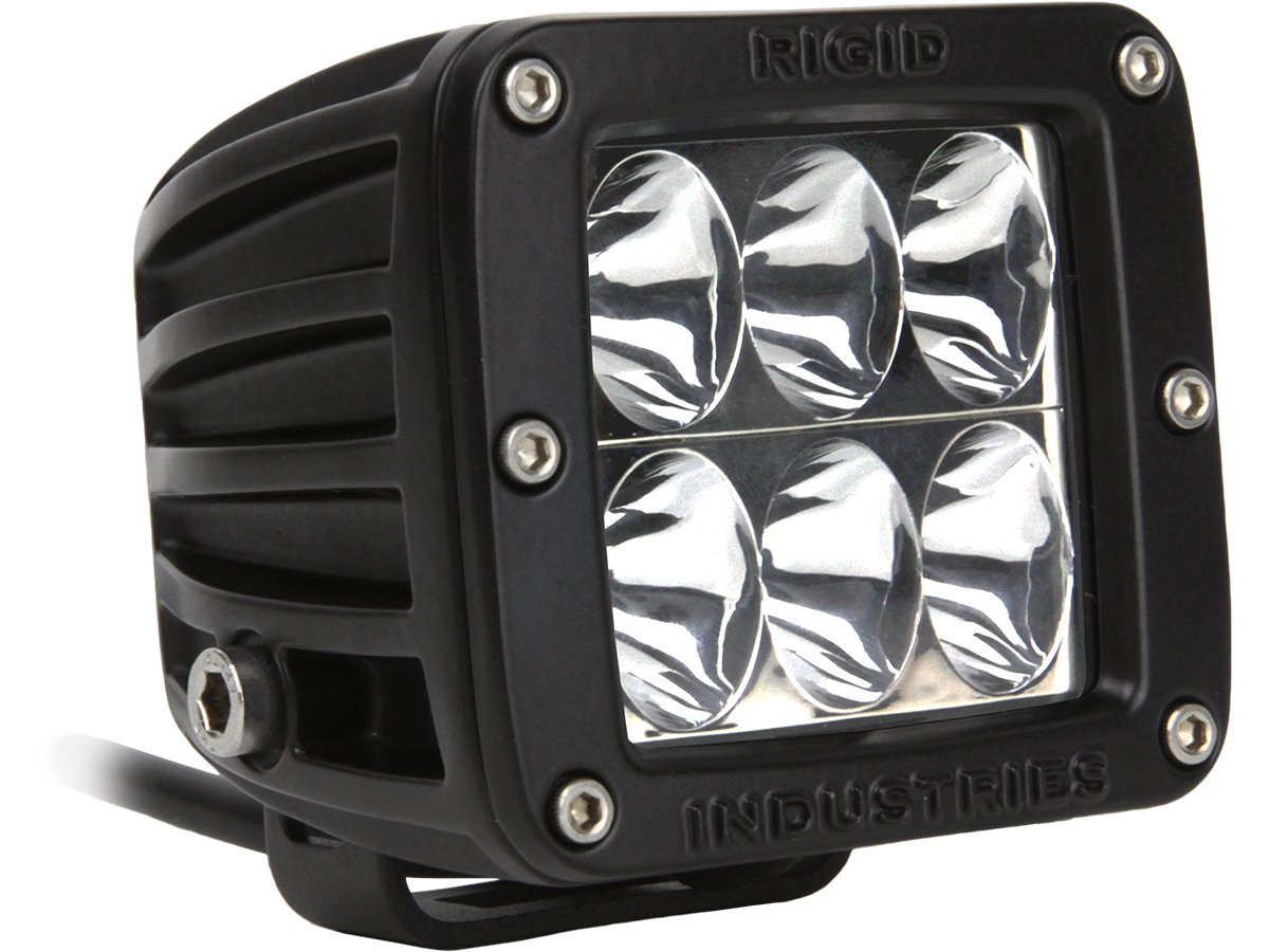 Rigid Industries 50131H D2-Series High/Low Driving Light (Single) by Rigid Industries