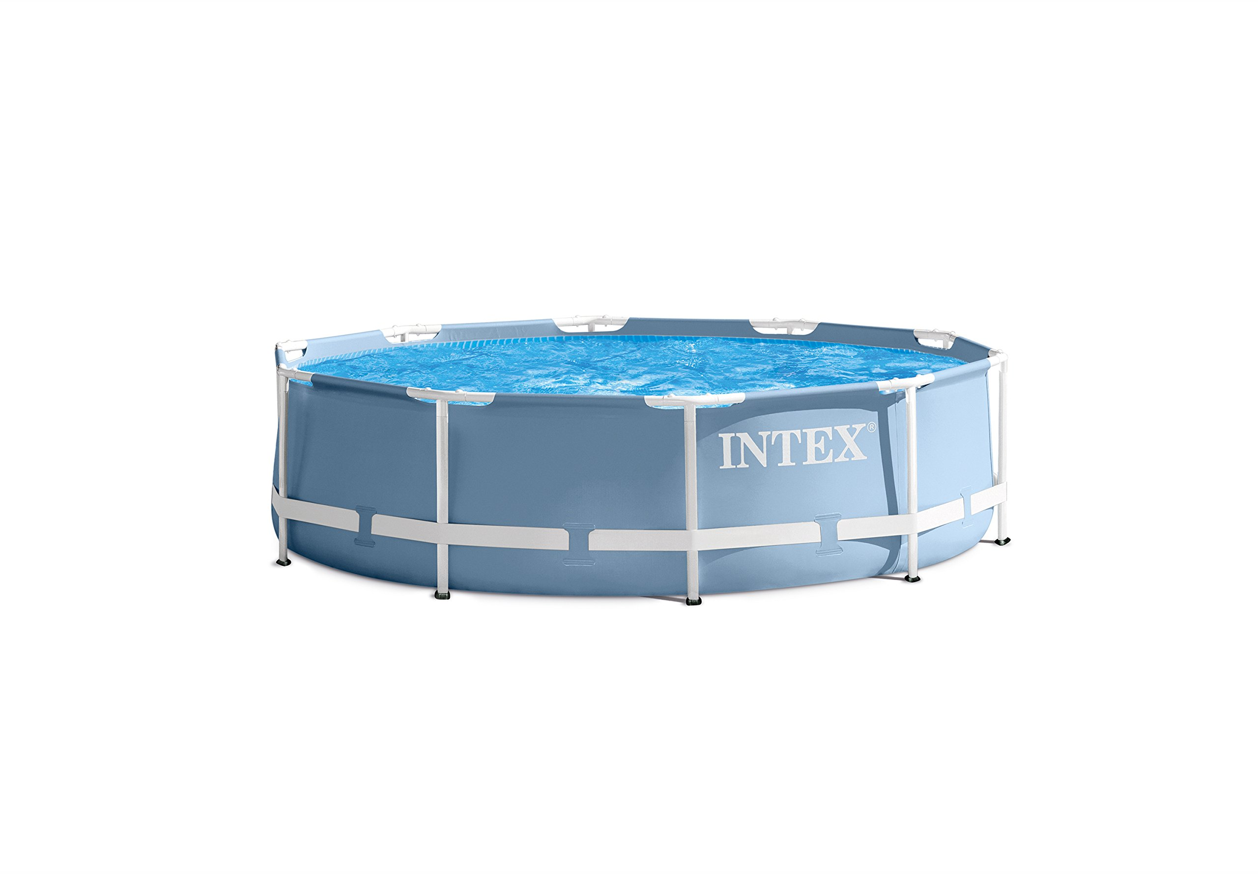 Intex 12ft X 30in Prism Frame Pool Set with Filter Pump by INTEX (Image #3)