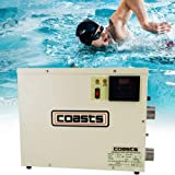 240V 11KW Electric Pool Water Heater for Above Ground Inground Pool Hot Tub,Upgrade Portable SPA Water Bath Heater Thermostat