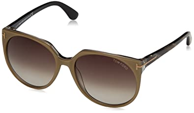 f44604122ff Image Unavailable. Image not available for. Color  Tom Ford Agatha  Sunglasses FT0370 38B
