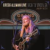 Gregg Allman Live - Back To Macon, Ga [Vinyl LP]