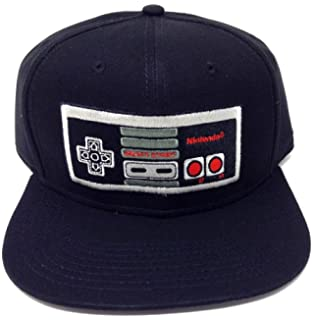 a5a4be710a0 Amazon.com  Nintendo Controller Chrome Weld Snapback Hat  Clothing