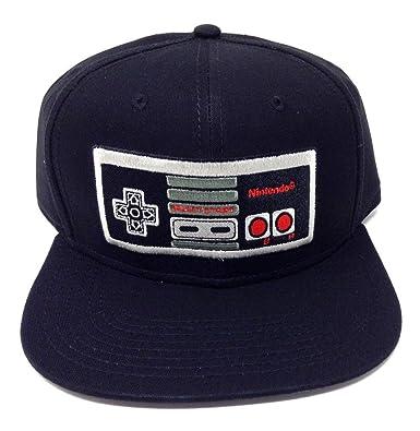 57e9b5134 Amazon.com: Black Nintendo NES Classic Controller Snapback: Clothing