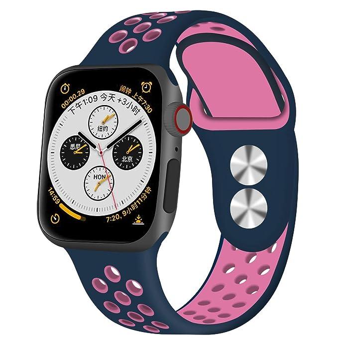Fotbor - Correa de Repuesto para Apple Watch de 44 mm y 42 ...