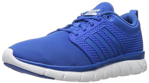 Buy adidas NEO Men's Cloudfoam Groove Shoes,Blue/Blue,11 M US at ...