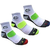 More Mile Mens London Cushioned Running Socks (3 Pair Pack)
