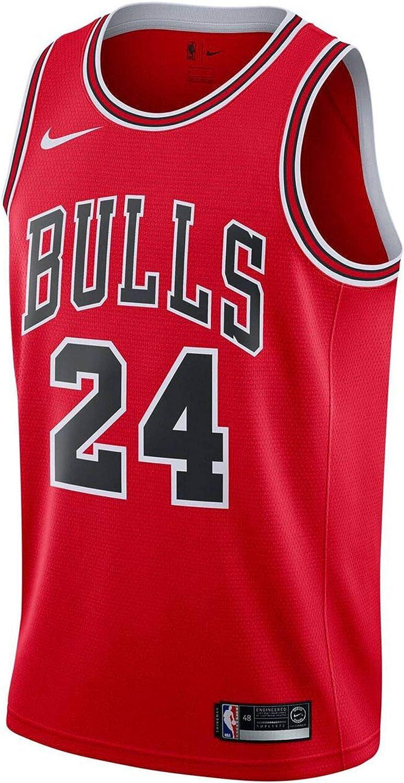 Nike Chi M Nk Swgmn JSY Road Camiseta NBA Lauri Markkanen, Hombre ...