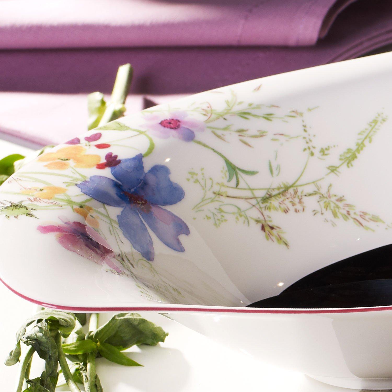 porcelana Premium, 36 x 24 cm Ensaladera blanco//colorido Villeroy /& Boch Mariefleur Serve /& Salad