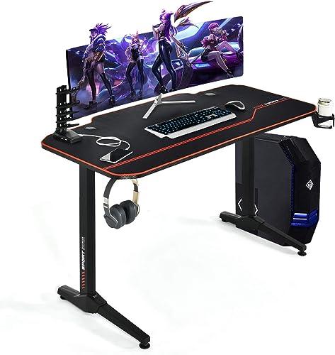 Tangkula 55 Inch Gaming Desk