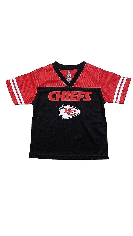 best website 69cb5 dc20f Amazon.com: Outerstuff Kansas City Chiefs Black Boys Youth ...