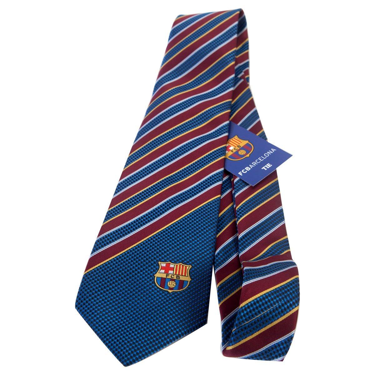 F.C. Barcelona F. C. Barcelona Tie St: Amazon.es: Deportes y aire ...