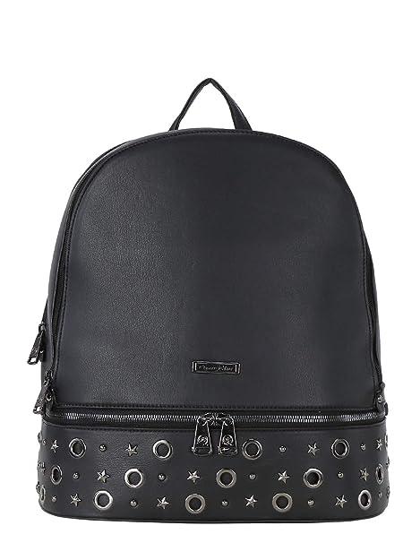 beec5adc83 QUEEN HELENA Zaino nero con borchie donna Ecopelle: Amazon.it: Scarpe e  borse