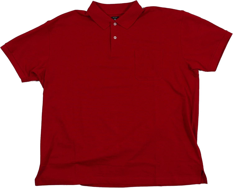 Camiseta Polo roja de Kitaro en Tallas XXL, 2xl-8xl:6XL: Amazon.es ...