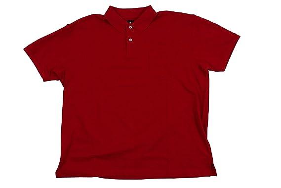 Camiseta Polo roja de Kitaro en Tallas XXL, 2xl-8xl:4XL: Amazon.es ...
