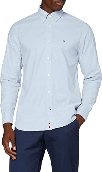 Tommy Hilfiger Flex Refined Oxford Shirt Camisa para Hombre