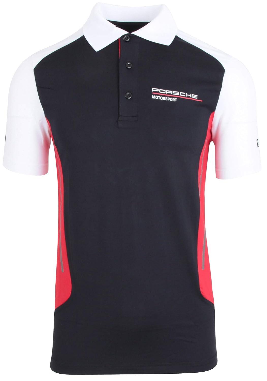 Porsche Herren Motorsport Polo-Shirt Gr. M - WAP80100M0J: Amazon ...