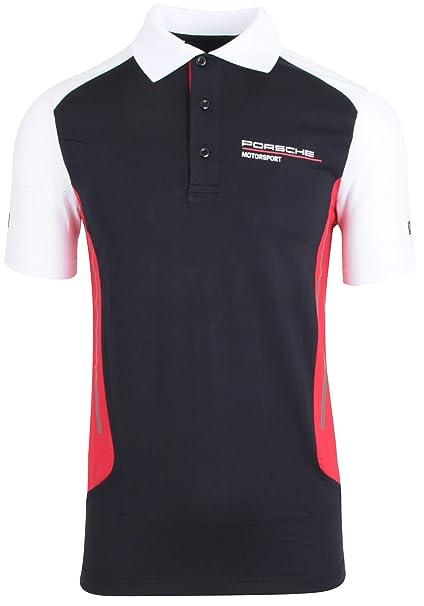 Porsche Motorsport - Polo para Hombre, Color Negro: Amazon.es ...