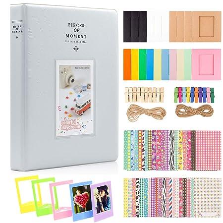 Ablus - Álbum de fotos para cámara Fujifilm Instax Mini, Polaroid ...