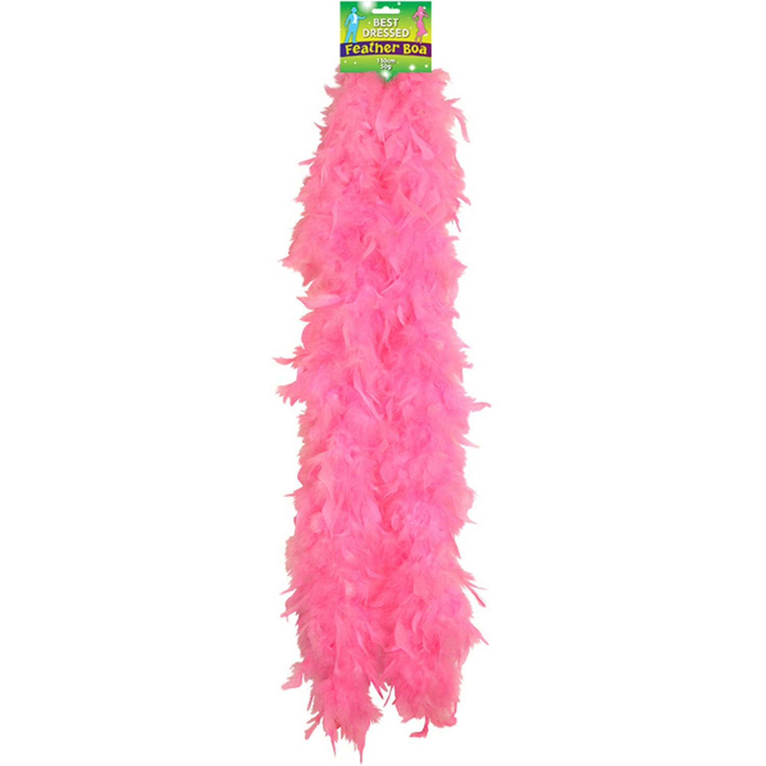 FEATHER BOA 150CM PINK Henbrandt U07 089