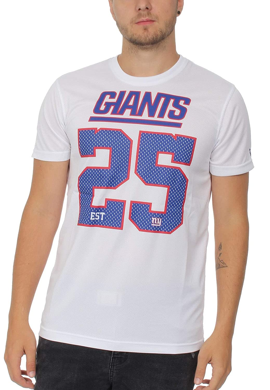 Size Medium - XXL New York Giants New Era Mesh Loose Fit Jersey White