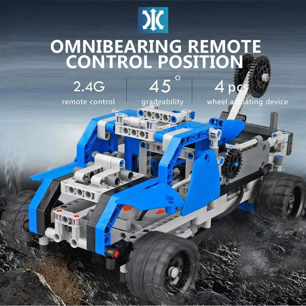 USB Lade DIY Fernbedienung Auto Set Kit 2CH 2,4 GHz RC Auto Modell Racing Spielzeug 05.18