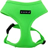 Puppia PAPA-AC1325 Geschirr, Neon Soft, L, grün