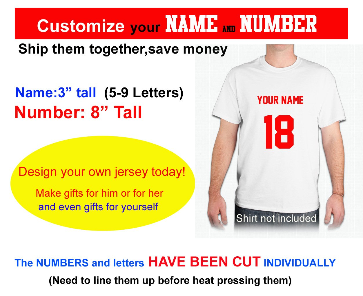 Amazon Custom Your Text Number Hockey Helmetjerseys