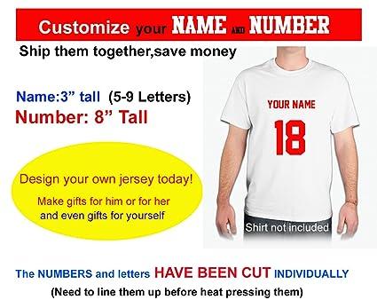 amazon com custom your text number hockey helmetjerseys