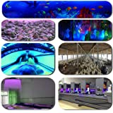 280nm Sterilization Led UV Gel Curing Lamp Printing Machine Ink Silk Screen Printing Version Ultraviolet Metal Glass Black Light