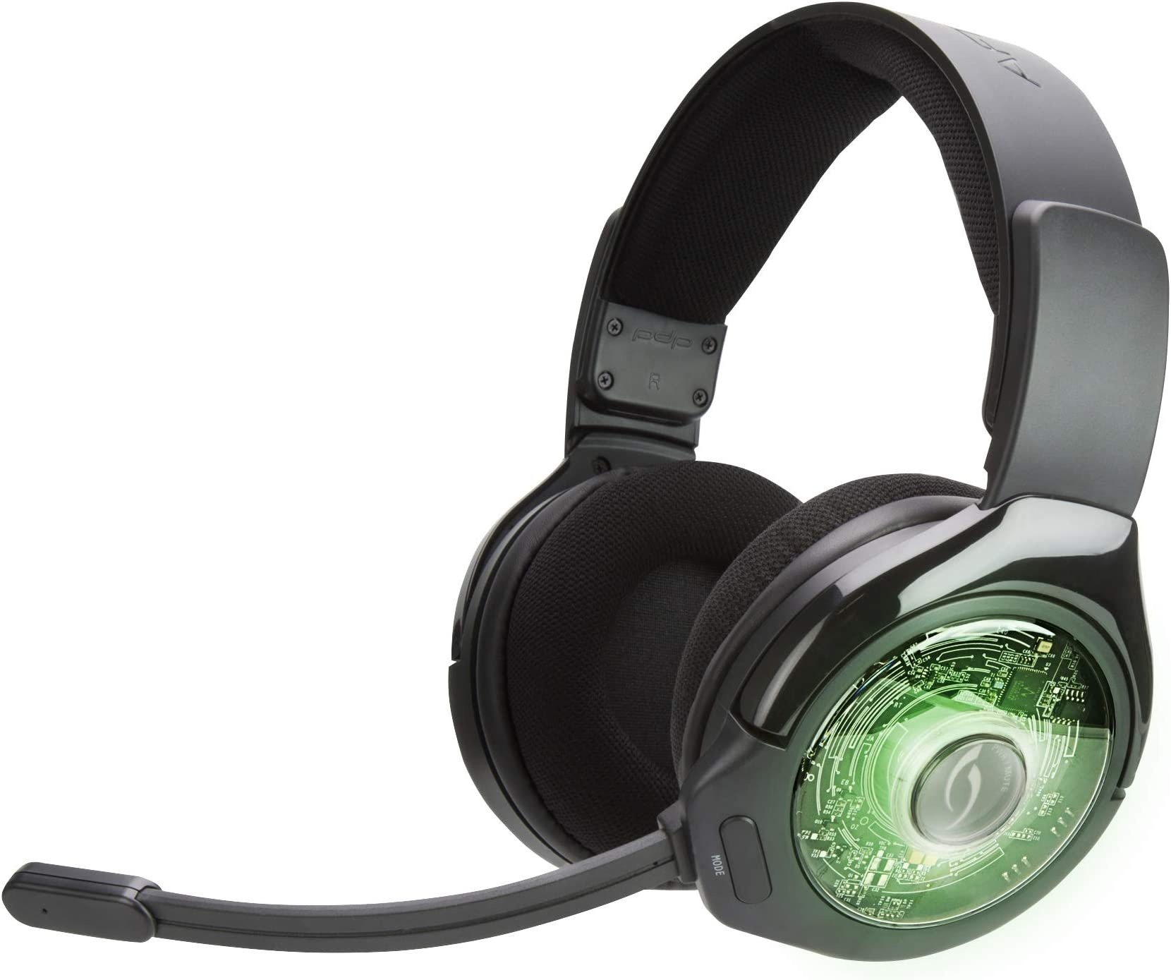 Amazon com: PDP Afterglow AG 9 Wireless Headset for Xbox One
