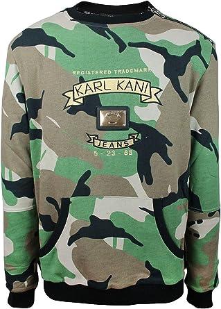 Karl Kani Men's Sweartshirt KK1755 Camo