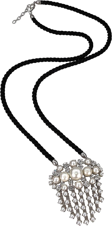 collezione alessandro Corinna - Cadena Larga con Cristales de Swarovski