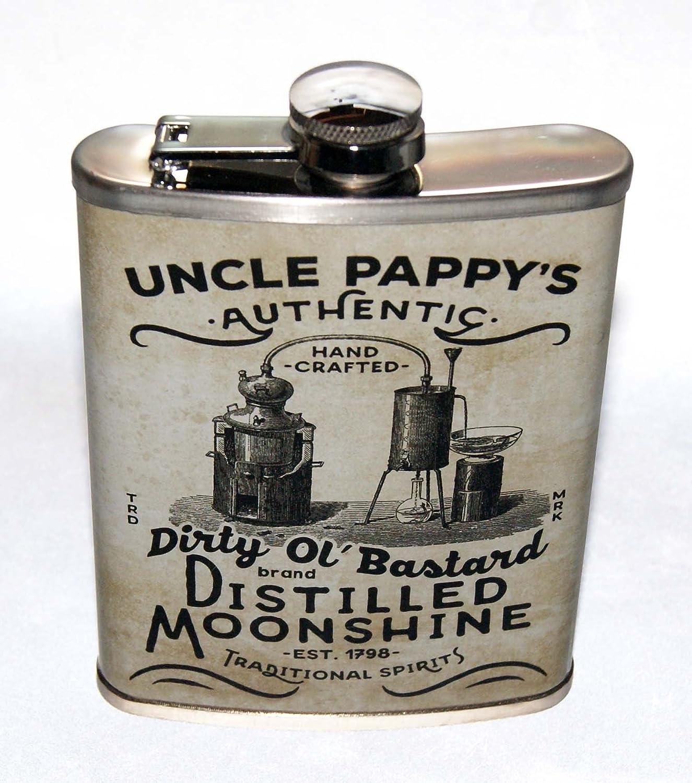 高質で安価 Uncle Moonshine 8オンスステンレススチールノベルティPappy Moonshine B071F61GMJ 's蒸留フラスコを使用する準備 Uncle B071F61GMJ, ASTROPRODUCTS インターネット店:4cf249a7 --- a0267596.xsph.ru
