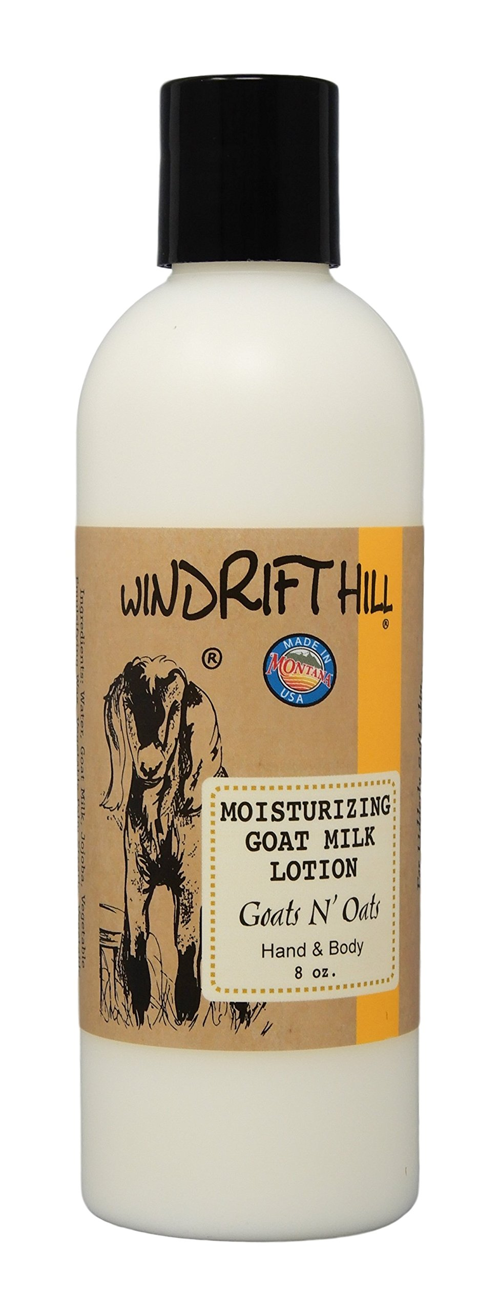 Amazoncom Windrift Hill Moisturizing Goats Milk Lotion Rain