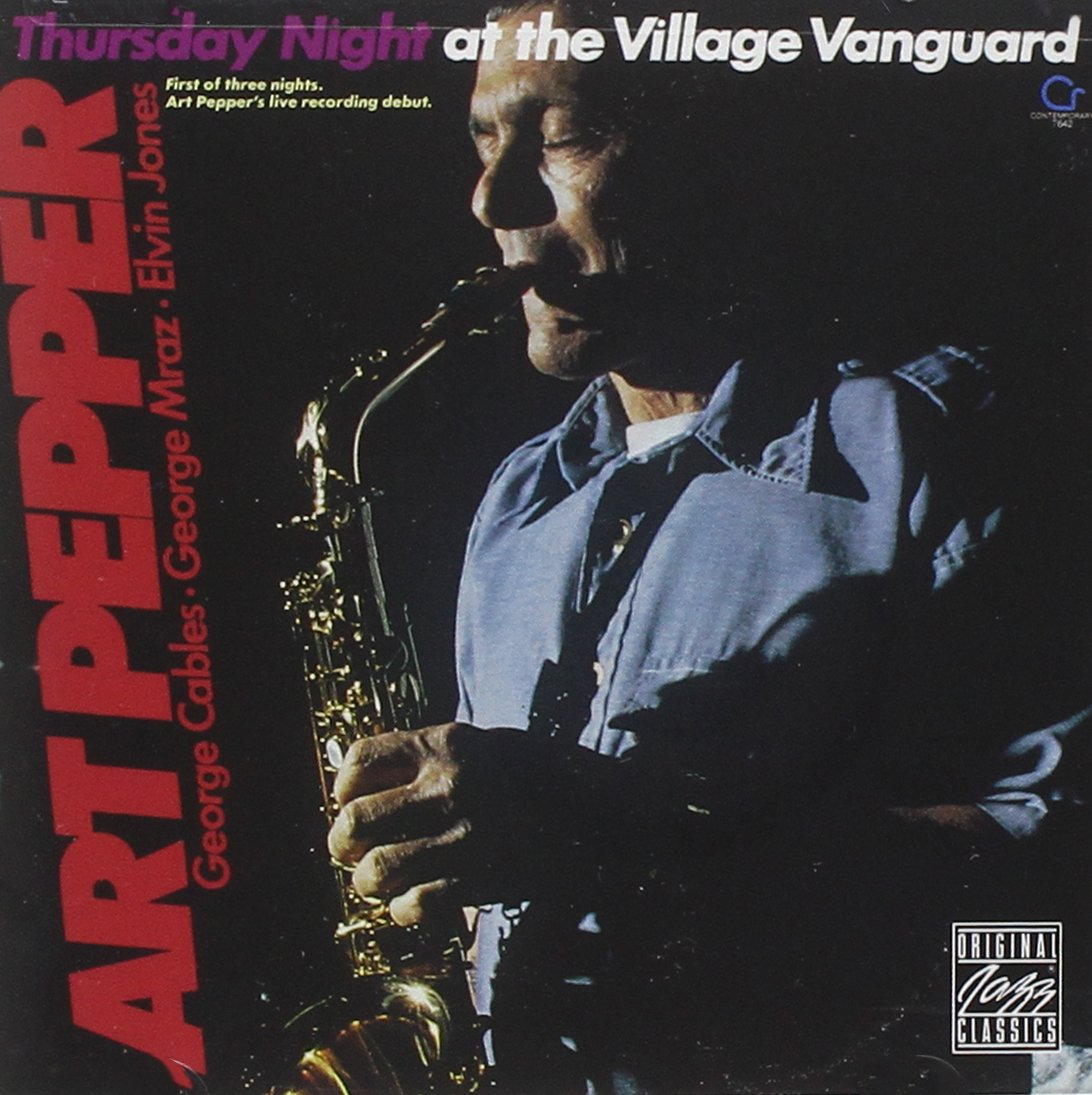 Art Pepper - Thursday Night At Village Vanguard - Amazon.com Music