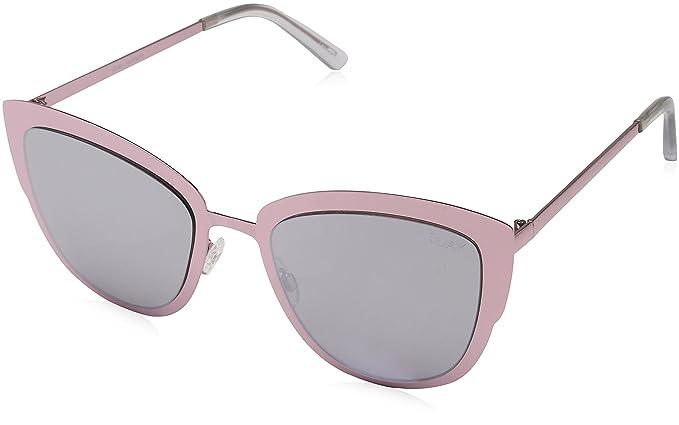 Quay Eyewear Australia Unisex Sonnenbrille, GR. One size (Herstellergröße: One Size), Rosa (pink/Silver)